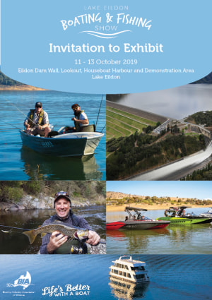 Exhibitor applications open for Lake Eildon Boating and Fishing Show