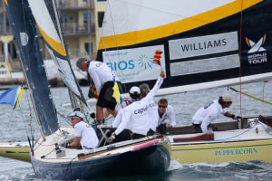 Williams, Canfield progress at Match Racing Worlds