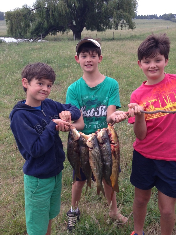 Shimano Juniors Fishy Photo Comp winners - January & February