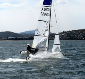 Cooley and Hancock win hard-fought Nacra 15 title