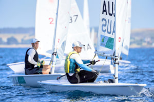 Tom Burton regains Laser National title