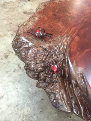 The Redbacks On My Burl