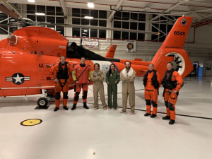 Coast Guard aircrew rescues three from disabled sailboat