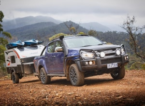 """Tow your own way"" with Isuzu D-MAX and MU-X"