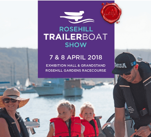Rosehill Trailer Boat Show on for 2018