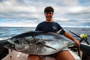 VIDEO: Trolling for southern bluefin tuna with the Halco Max