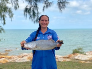 Top End fisho lands $10,000 prize-tagged barra on handline