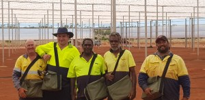 Shade house success for remote community