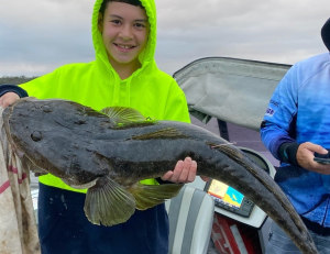 Solid growth rate for trophy-sized flathead
