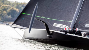 New York Yacht Club launches America's Cup test boat