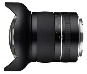 Samyang announce XP 10mm f/3.5: the world's widest rectilinear prime lens