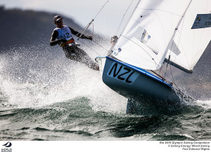 British women take advantage of shifty conditions in Rio 470 competition