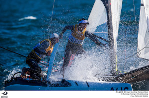 Final qualifying race cruels Australia's Nacra hopes