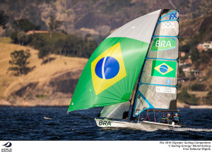 Martine Grael picks up 49erFX Gold for Brazil as Kiwis hearts break