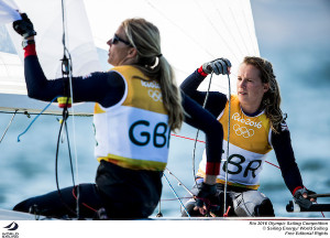 Rio Olympics 2016: Gold for Great Britain and a tight battle for the minors in 470 Women
