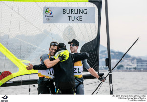 Outteridge and Jensen take Silver in Rio 49er after great course management