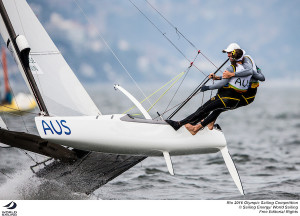 Silver for Waterhouse and Darmanin in Nacra 17 - by a single point