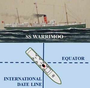 A superb piece of navigation - the incredible story of the SS Warrimoo