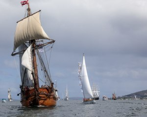 Launching the new year: 2021 Parade of Sail