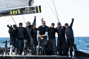 Battleship Nika sweeps to victory at RC44 Worlds