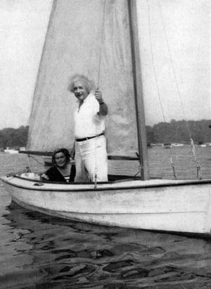 How a love of sailing helped Einstein explain the universe