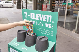 7-Eleven takes the lead in coffee cup recycling