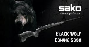 SAKO 85 Black Wolf Pre Orders Start