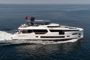 Sirena 88 flagship yacht launched