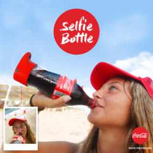 Coca-Cola launches scannable label and taps into selfies