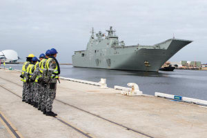 Managing the asset - Future LHD sustainment