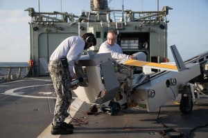 Navy moving ahead with UAS
