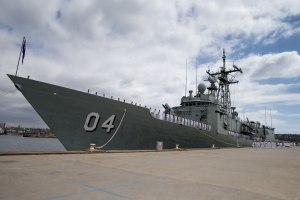 Sea change for ex-HMAS Darwin