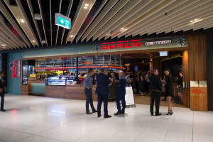 Melbourne Airport reveals revamped dining precinct at T2 International Terminal