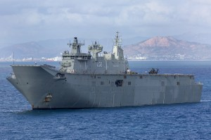 Defence settles with Navantia on LHDs