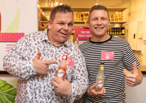 Chef Adam Moore develops new soft drink LoveBite
