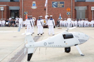 Navy commissions new unmanned aerial squadron