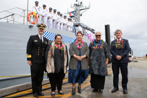 Samoa takes delivery of Guardian class patrol boat