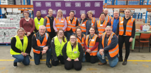 AIP packs more than 30k meals for Foodbank