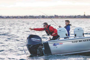Mercury finance on four-stroke packages