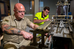 ADF concludes medical manufacturing support task
