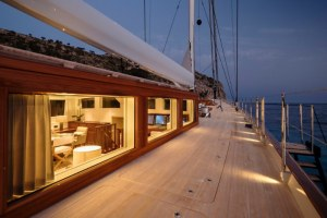 Aquarius: A modern 184ft ketch with classic lines