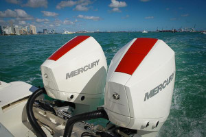 Mercury's V6 3.4 Litre 175- 225hp on the water at Miami