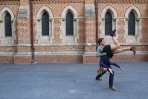 Situating dance in Perth's St George's Cathedral