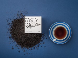 Tea brand toots its horn and blows its whistle