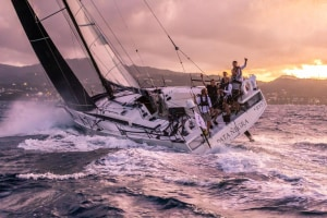 RORC Transatlantic Race: Pata Negra - all smiles in Grenada