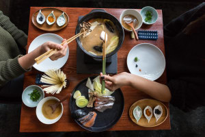 Master Den's hot pot pop-up Poppu Uppu warms Melbourne CBD