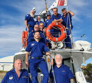 International award for life-saving Marine Rescue NSW volunteers