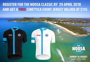Game On: Noosa Classic Course Maps + Free Jersey Offer