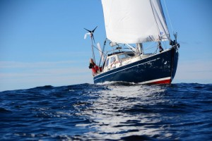 Golden Globe Race: Are Wiig, dismasted 400 miles SW of Cape Town