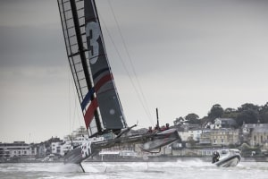 Sir Ben Ainslie puts his foiling America's Cup world series-winning catamaran up for sale